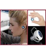 Tiny Wireless Bluetooth Stereo Earphone Headset 4.0  Answer Calls Listen... - $39.95