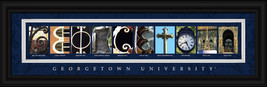 Georgetown University Officially Licensed Framed Letter Art - 2 Versions - $39.95