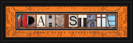Idaho State University Officially Licensed Framed Letter Art  - $39.95