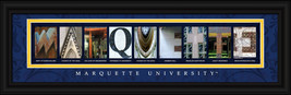 Marquette University Officially Licensed Framed Letter Art  - $39.95
