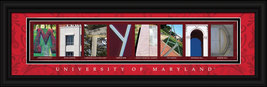 University of Maryland Officially Licensed Framed Letter Art  - $39.95
