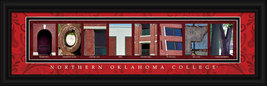 Northern Oklahoma College Officially Licensed Framed Letter Art - Tonkaw... - $39.95