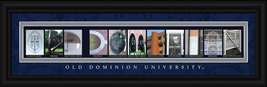 Old Dominion University Officially Licensed Framed Letter Art - $39.95