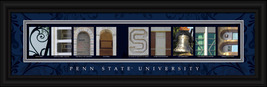 Penn State University Framed Letter Art Print - $33.96