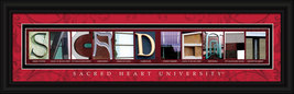 Sacred Heart University (Connecticut) Officially Licensed Framed Letter Art - $39.95