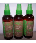3 Bath & Body Works Almond & Vanilla Essential Oils Fine Fragrance Mist ... - $32.50
