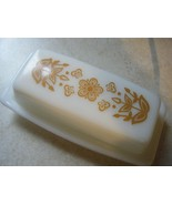 Corelle by Corning BUTTERFLY GOLD Butter/Margarine Dish - $25.00