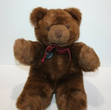 "Vintage Gund Collector Classic 15"" Brown Teddy Bear Chocolate Truffle 1983 - $26.99"