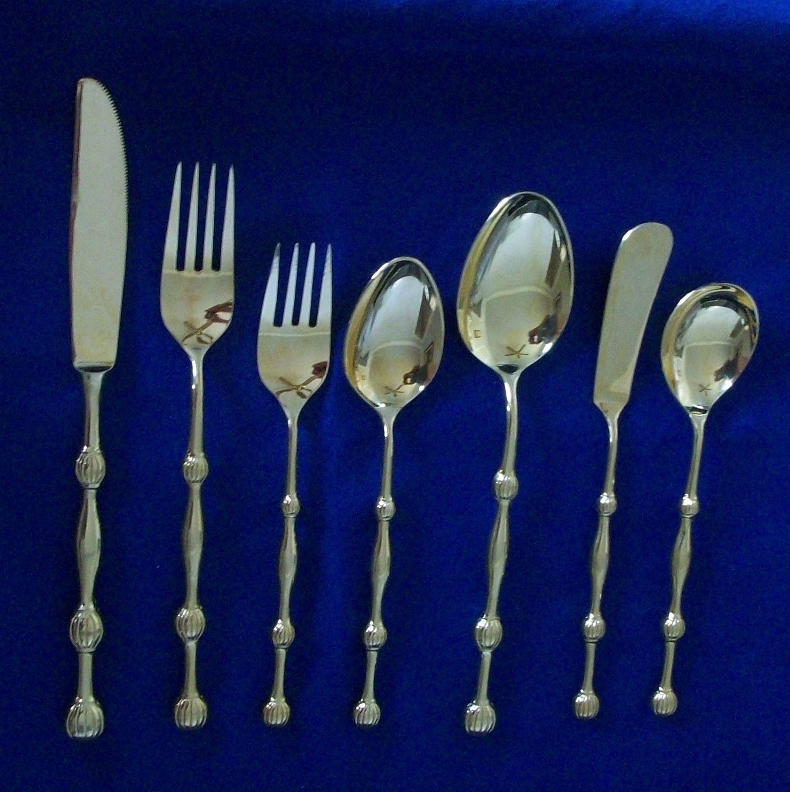 Stanley Roberts Golden Minuet Flatware Japan and similar items