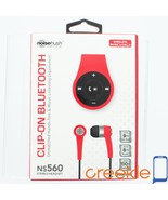 NS560 NoiseHush NS560 Clip-on Wireless Bluetooth Stereo Headset/Headphon... - $47.99