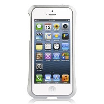 Hypergear Aircraft Aluminum Bumper Case for iPhone 5, Silver - $24.50
