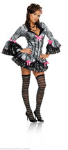 Secret Wishes French Kiss Valentine's Day Halloween Costume Sexy Girl Dance Club - $34.99