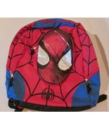 Marvel Large Spiderman Backpack Spiderman Face Boys Back to School NEW - $14.99