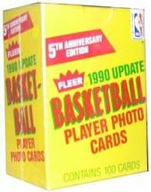 1990-91 Fleer Update Basketball 100 Card Factory Sealed Set Gary Payton - $9.95