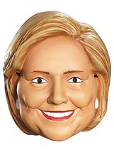 Disguise Costumes Hillary Clinton Vacuform 1/2 Mask, Adult - $9.77