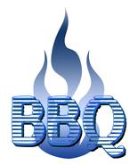 BBQ with Frames Blue-Digital Download-ClipArt-A... - $3.00