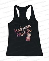Women's Beach Tank Tops - Hakuna Matata Pineapple (Red) - $16.99+