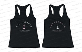 Best Friend Summer Beach Tank Tops - California Pacific Coast Huntington Beach