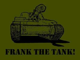 FUNNY TSHIRT Frank The Tank T-Shirt Mens Bachelor Party Home Brewing Tee Shirt - $11.99