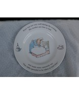 Wedgwood Peter Rabbit Nursery Plate His Mother ... - $15.99