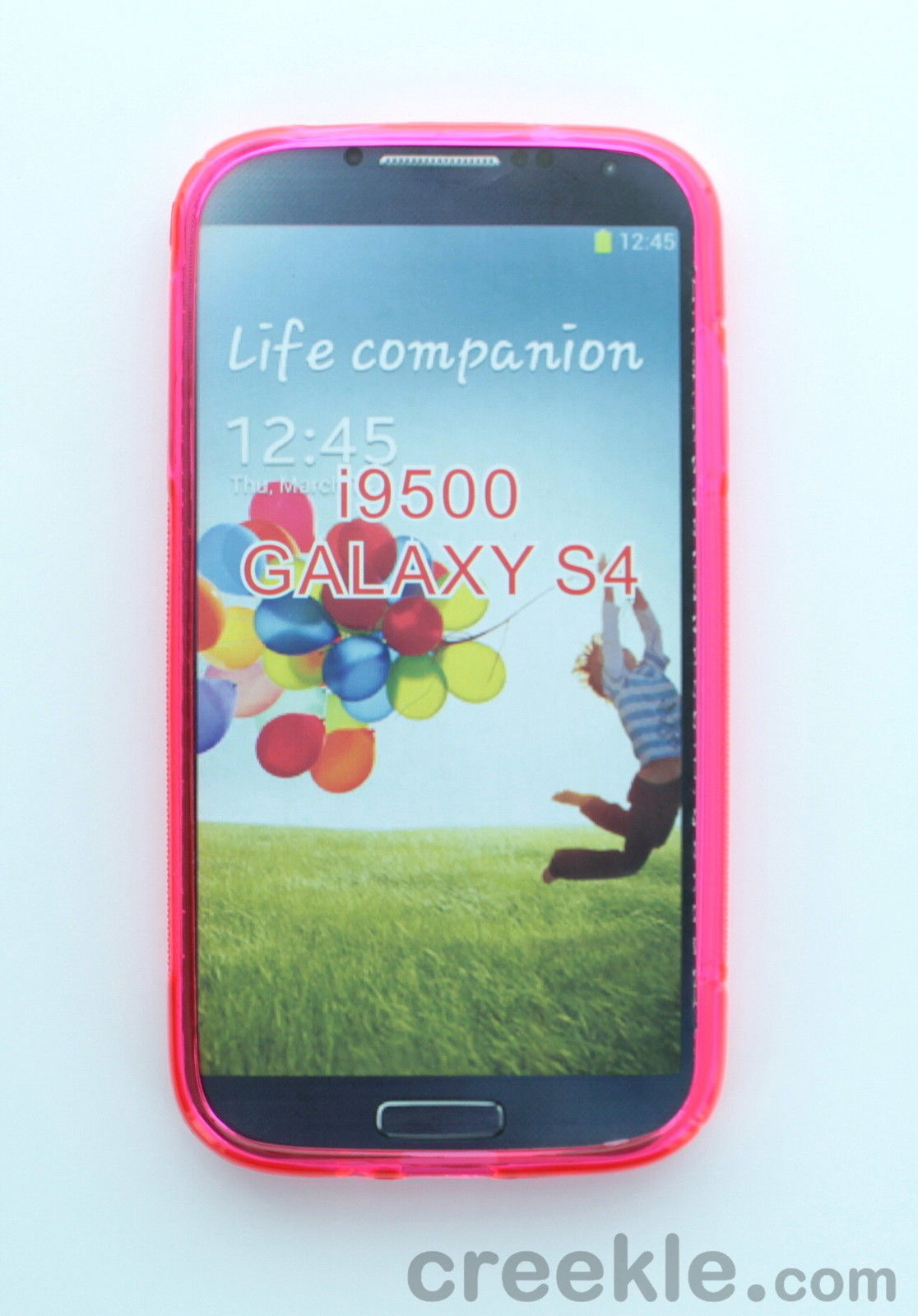 Naztech TPU Protective Cover Case for the Samsung i9500 Galaxy S4 - Hot Pink