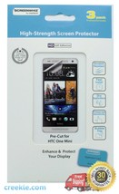 ScreenWhiz Hi-Strength Screen Protector 3-Pack w/Cleaning Cloth for HTC One Mini - $10.99