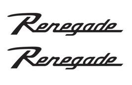 """Jeep 7"""" Wrangler Renegade Retro Style Decals - $15.00"""