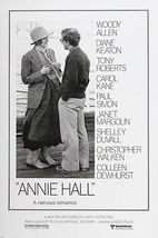 ANNIE HALL movie poster diane KEATON woody ALLEN funny QUIRKY ironic 24X36  - $25.00