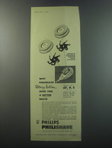 1955 Philips Philishave Ad - Why Philishave Rotary Action gives you better  - $14.99