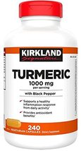Just Grown Turmeric 1000 mg., 240 Capsules (1 Pack) - $37.19