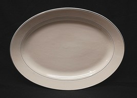 "Classic Style 13-3/4"" Serving Platter by Tabletops Lifestyles Double Gol... - $29.69"