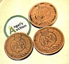 Indian Head Penny 1899, 1900, and 1901 AA20-CNP2135 Antique image 3
