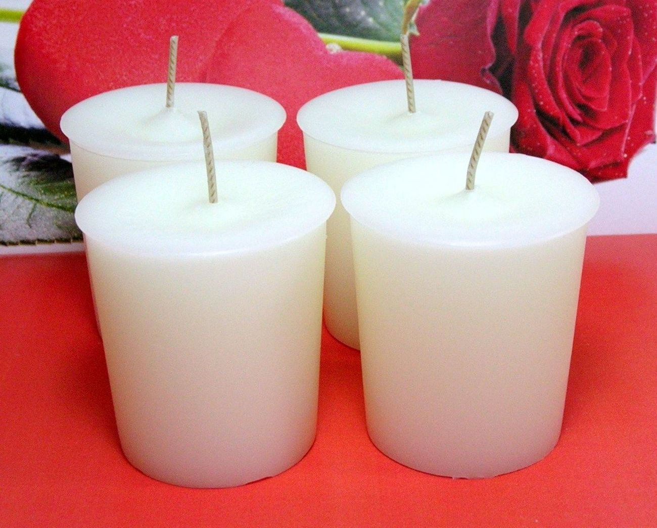 Lovespell (Type) PURE SOY Votives (Set of 4)