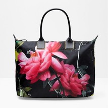 Ted Baker London Kaycie Citrus Bloom Extra Large Nylon Shopper Tote Bag  - $99.99