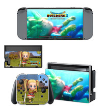 Dragon Quest Builders decal for Nintendo switch console sticker skin - $15.00