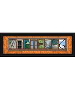 Wartburg College Officially Licensed Framed Letter Art  - $39.95