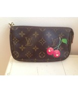 Louis Vuitton Cerises Cerise Cherry Pochette Purse Bag Clutch-Price drop!