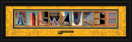 University of Wisconsin - Milwaukee Officially Licensed Framed Letter Art - $39.95