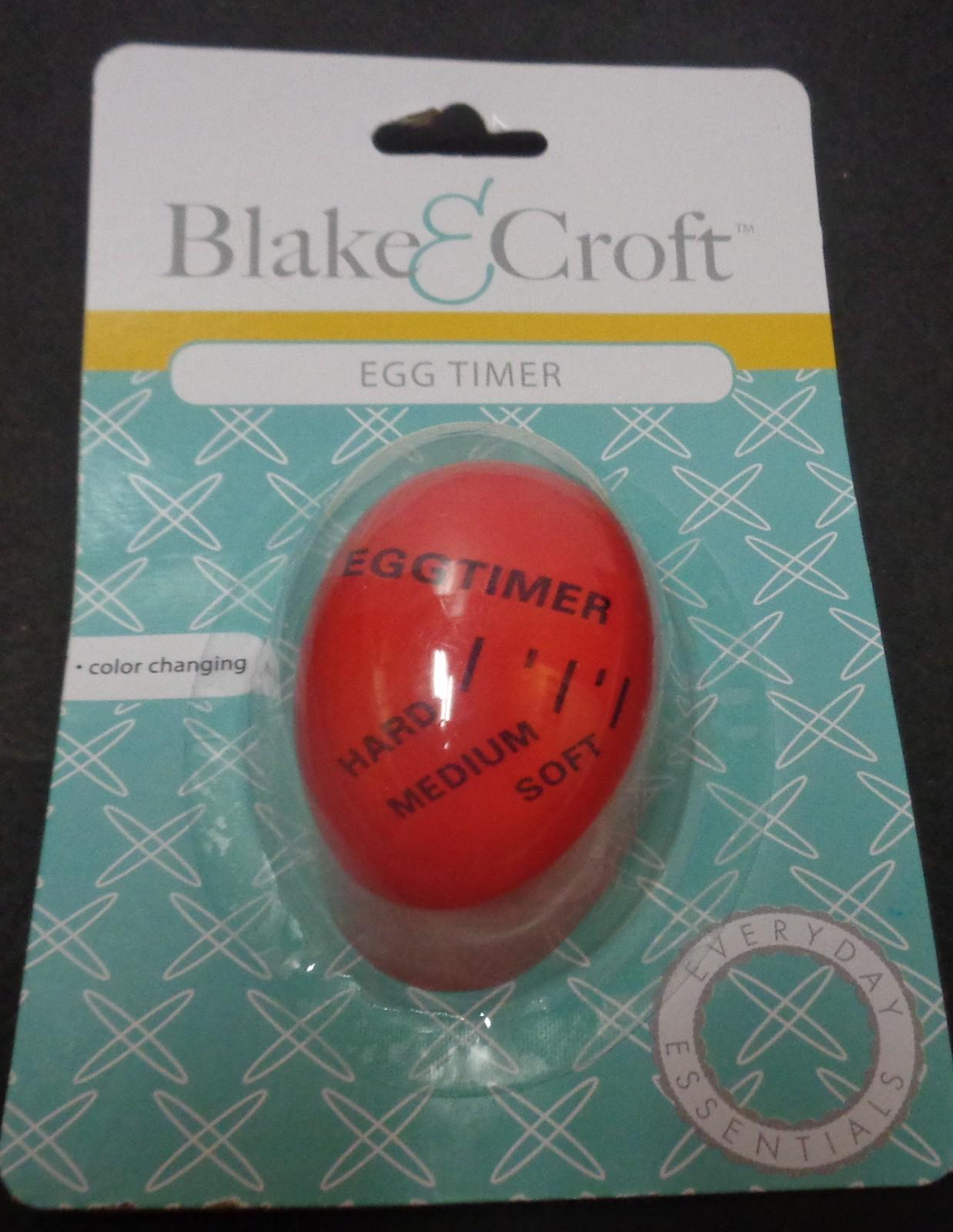 Blake & Croft Egg Timer Color Changing NIB Free Shipping