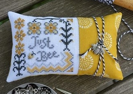 Just Bee Limited Release cross stitch chartpack Hands On Design - $9.00