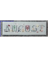August monthly collection cross stitch chart Cricket Collection - $7.20