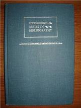 1983 ROSS MACDONALD BIBLIOGRAPHY Matthew Bruccoli - $30.00