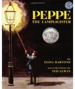 Peppe the Lamplighter [Paperback] by Bartone, Elisa; Lewin, Ted - $4.89