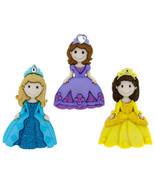 Pretty Princess Novelty Buttons/DIY Sewing supplies/Plastic Buttons/Kids... - $3.99