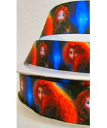 "Disney Brave Merida Printed Grosgrain Ribbon1""/DIY Hair bows/Craft Supplies - $1.60"