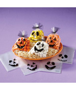 Halloween Treat Bags/Plastic Party Decor/Halloween Party Favor Bags /Goo... - $2.00