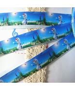 "Frozen Olaf The Snowman  Printed Grosgrain Ribbon1""width/DIY Hair Bows S... - $2.00"