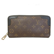 LOUIS VUITTON Zippy Wallet Retiro M61855 Used Very good condition From J... - $676.88
