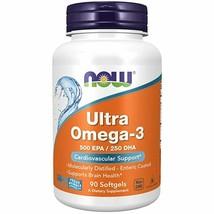 Now - Ultra Omega-3 Fish Oil - Non-GMO, Gluten Free,  Keto Friendly-USA - $75.74