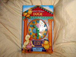 CHILD'S HICKORY DICKORY DUCK - MY FIRST BIG CLOCK BOOK - $14.50